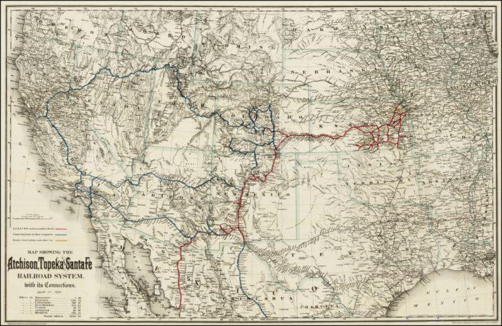 Map Of Texas Showing Santa Fe