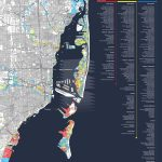 Map Shows Miami Condos Most Threatenedsea Level Rise | Miami New   Florida Water Rising Map