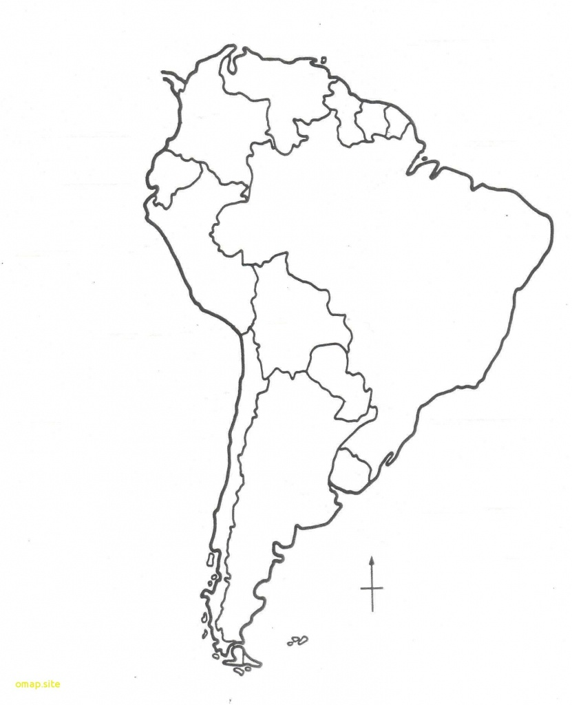 Map South America Blank Printable - Capitalsource - Printable Blank Map Of South America