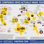 Map: The Companies Who Actually Make Your Beer | Vinepair   California Brewery Map