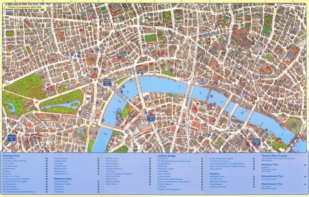 Mapping London - Free Printable Aerial Maps