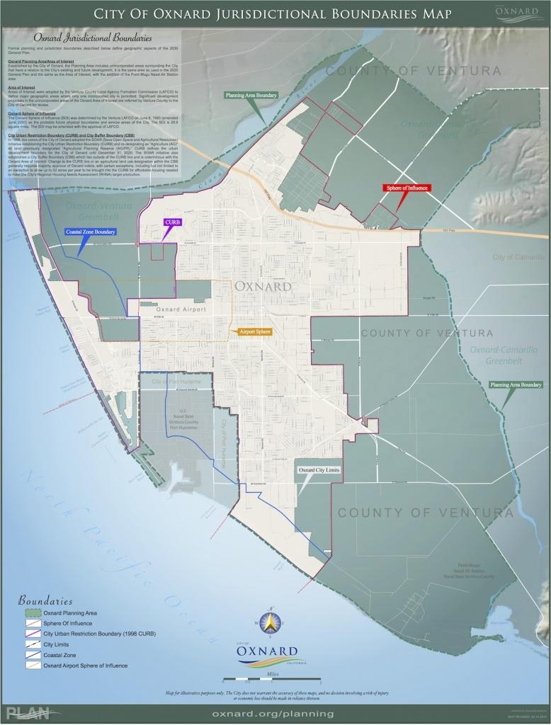 Maps — City Of Oxnard - Google Maps Oxnard California
