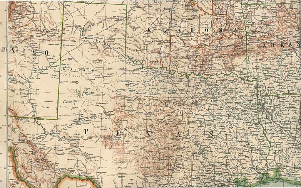 Maps - Complete Map Of Texas