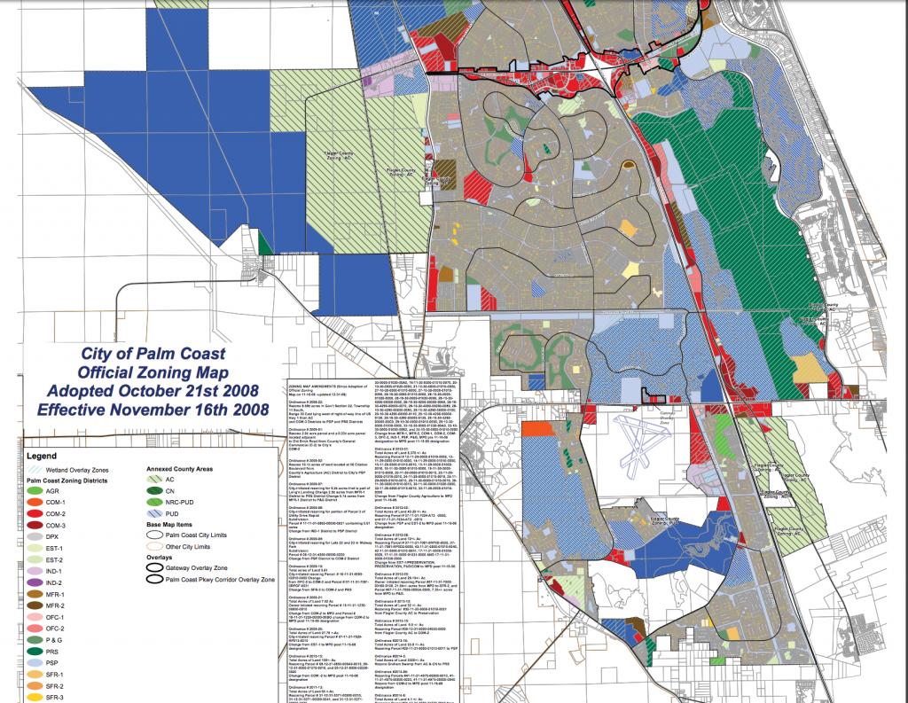 Maps - Flagler County - Florida Land Use Map