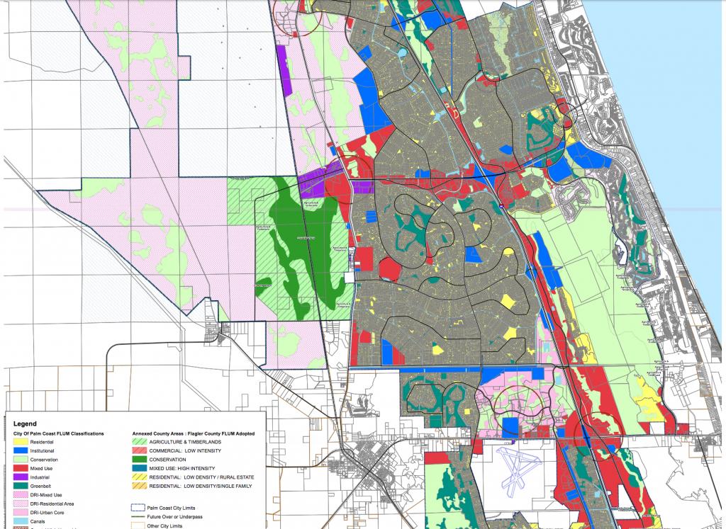 Maps - Flagler County - Palm City Florida Map