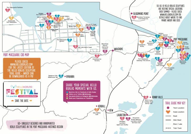 Printable Street Map Of Port Macquarie