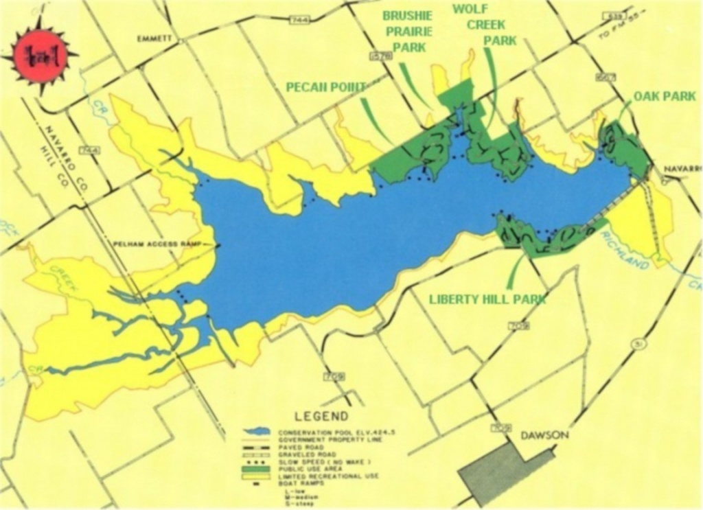 Maps - Lake Of The Pines Texas Map