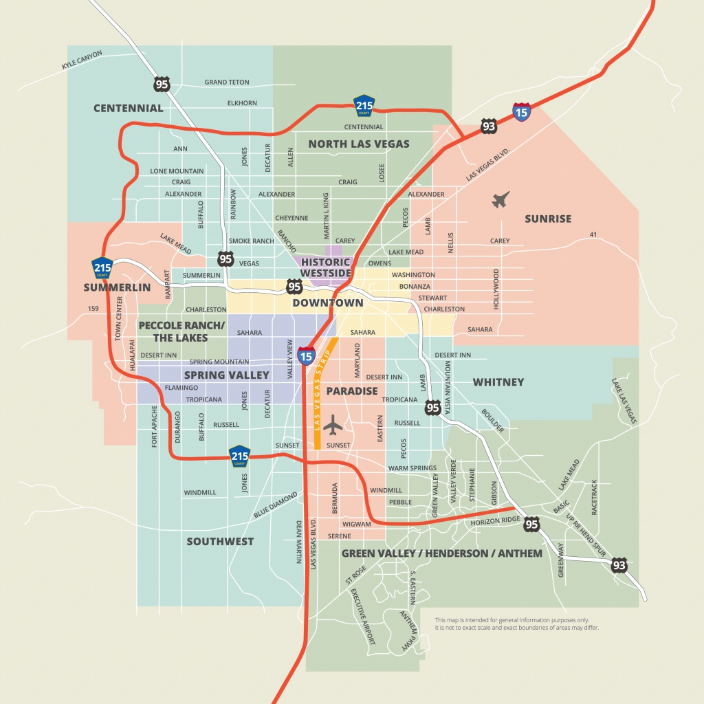 Maps | Las Vegas - Printable Map Of Downtown Las Vegas