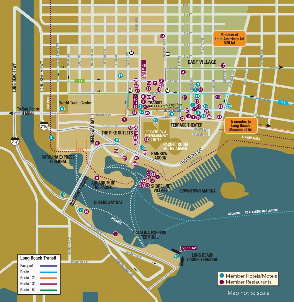 Maps - Long Beach City Guide - Printable Map Of Long Beach Ca