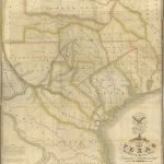 Maps: Map Of Texas With Parts Of The Adjoining States| A Continent   Stephen F Austin Map Of Texas