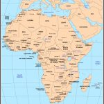 Maps Of Africa   Printable Map Of Africa With Capitals