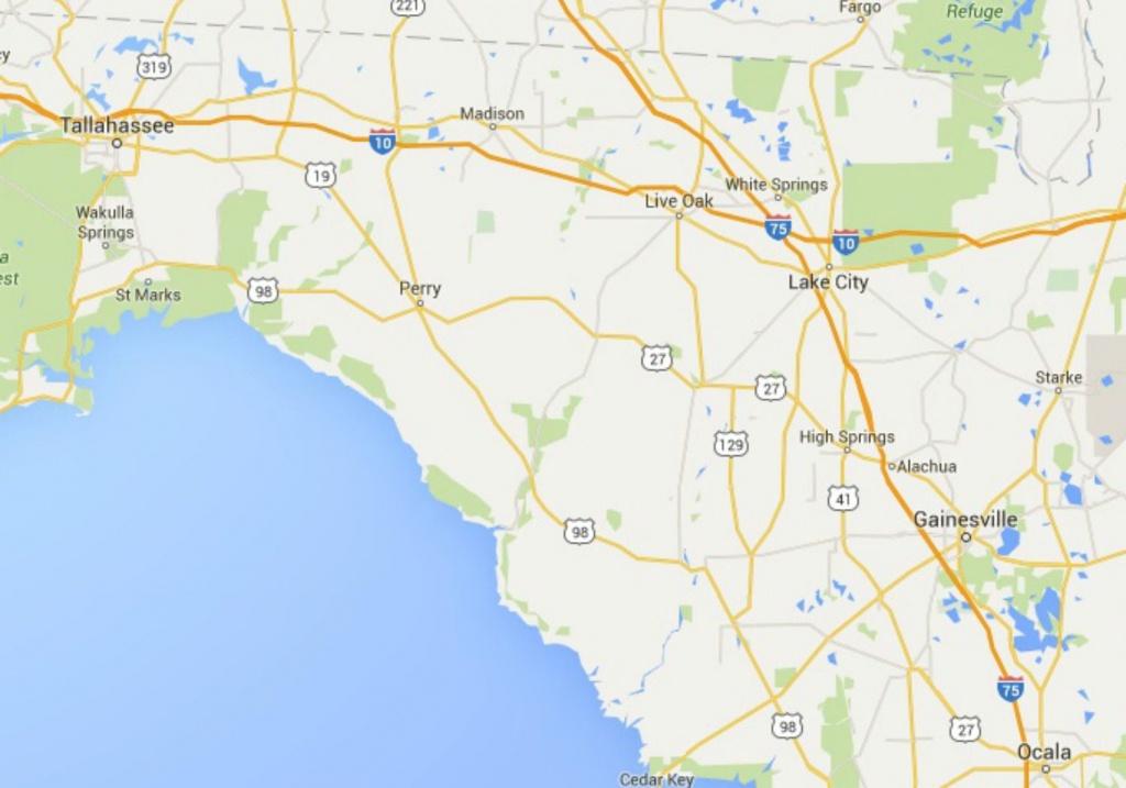 Maps Of Florida: Orlando, Tampa, Miami, Keys, And More - Destin Florida Location On Map