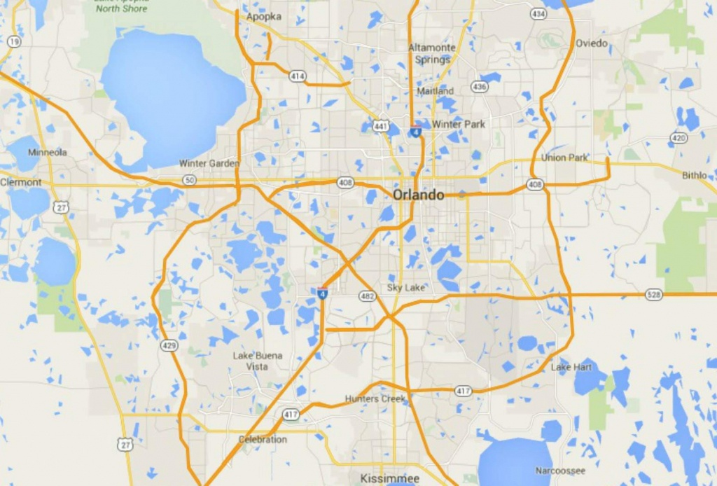 Maps Of Florida: Orlando, Tampa, Miami, Keys, And More - Google Maps Florida Panhandle
