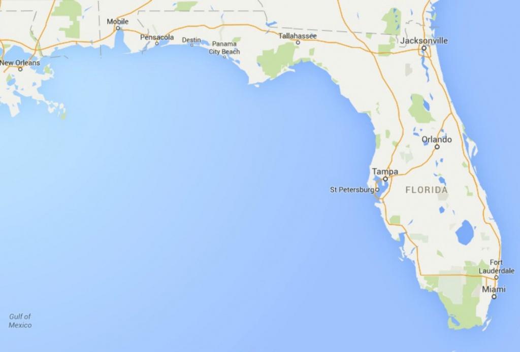Maps Of Florida: Orlando, Tampa, Miami, Keys, And More - Google Maps Hollywood Florida