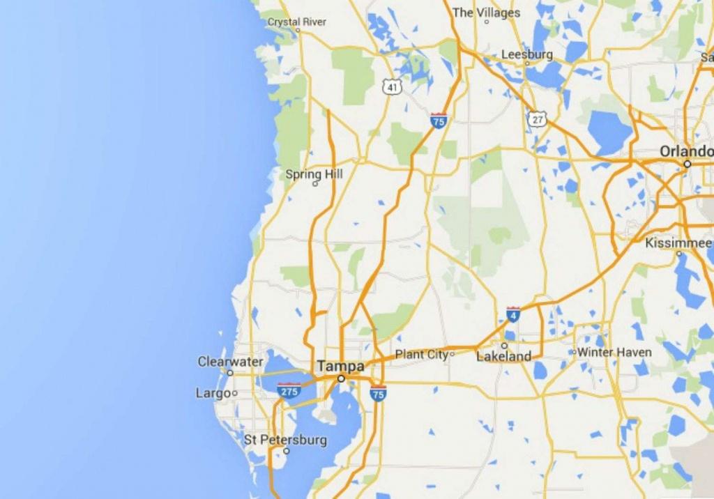 Maps Of Florida Orlando Tampa Miami Keys And More Google Maps - Miami Florida Google Maps