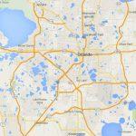 Maps Of Florida: Orlando, Tampa, Miami, Keys, And More   Google Maps Orlando Florida