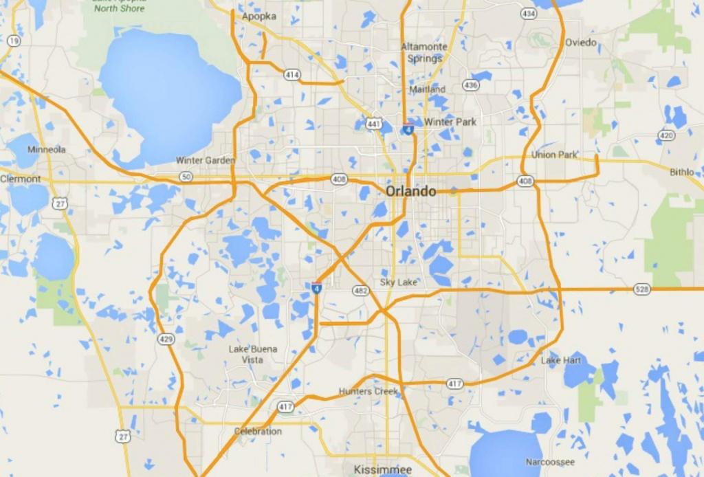 Maps Of Florida: Orlando, Tampa, Miami, Keys, And More - Map Of Florida Near Orlando