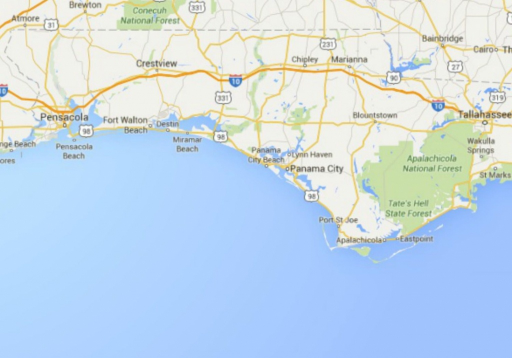 Maps Of Florida: Orlando, Tampa, Miami, Keys, And More - Map Of Florida Panhandle Hotels