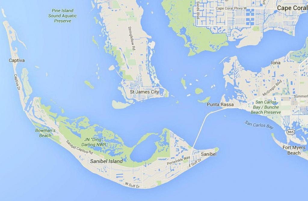 Maps Of Florida: Orlando, Tampa, Miami, Keys, And More - Sanibel Island Florida Map