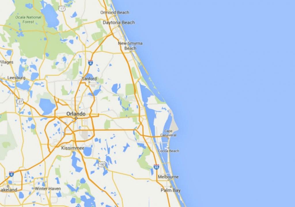 Maps Of Florida: Orlando, Tampa, Miami, Keys, And More - Vero Beach Fl Map Of Florida