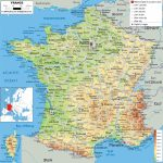 Maps Of France | Detailed Map Of France In English | Tourist Map Of   Printable Road Map Of France