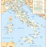 Maps Of Italy | Detailed Map Of Italy In English | Tourist Map Of   Printable Map Of Italy