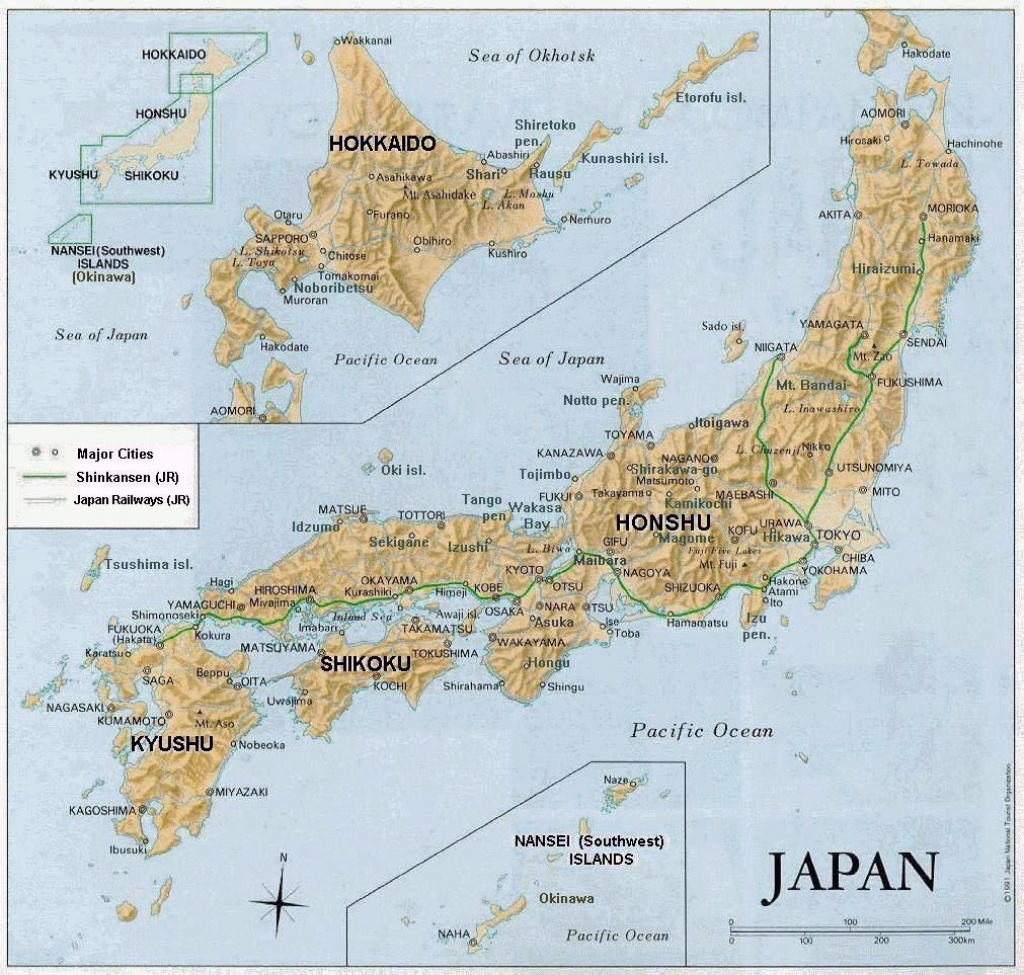 Maps Of Japan | Detailed Map Of Japan In English | Tourist Map Of - Printable Map Of Japan