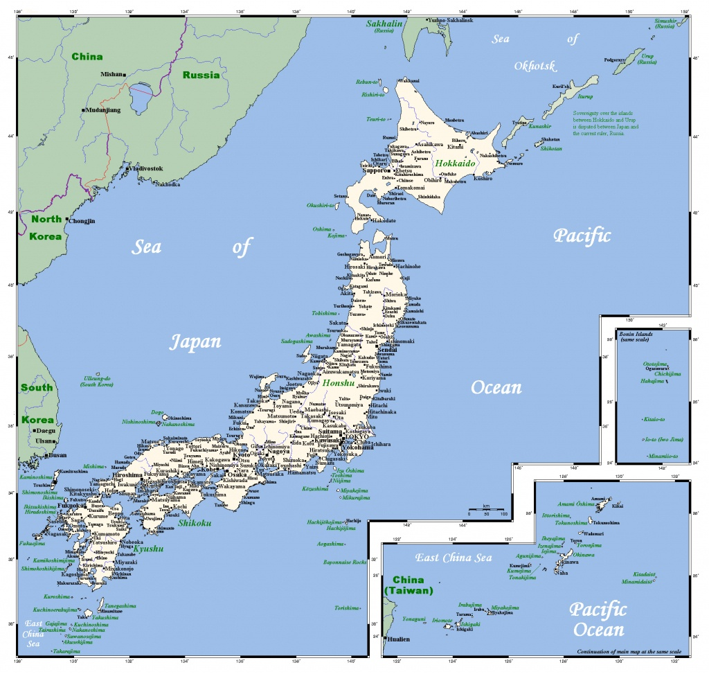Maps Of Japan   Detailed Map Of Japan In English   Tourist Map Of - Printable Map Of Japan With Cities