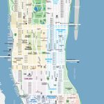 Maps Of New York Top Tourist Attractions   Free, Printable   Printable Map Of Manhattan Pdf