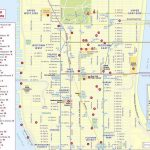 Maps Of New York Top Tourist Attractions - Free, Printable - Printable Map Of Nyc Tourist Attractions