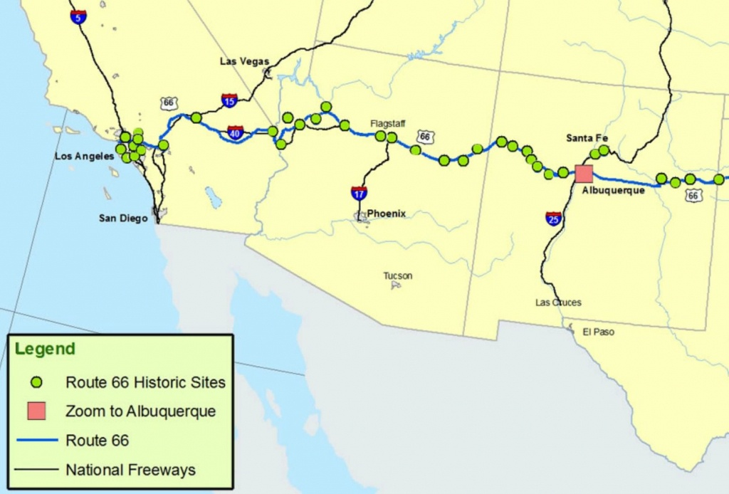 Maps Of Route 66: Plan Your Road Trip - Map Of Route 66 From Chicago To California