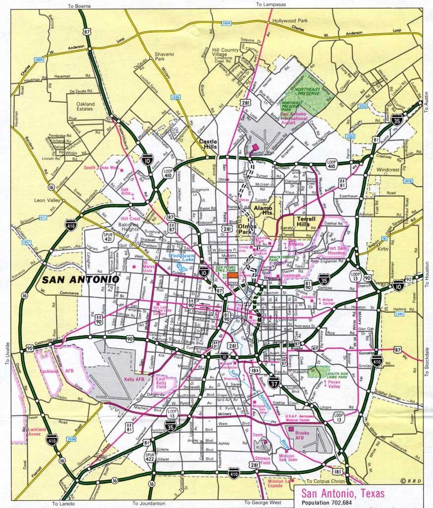 Maps Of San Antonio Texas | Business Ideas 2013 - Map Of San Antonio Texas And Surrounding Area