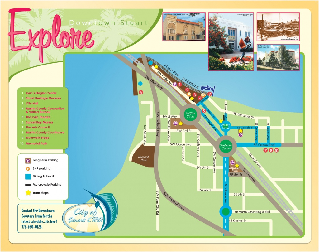 Maps Of Stuart Florida And Travel Information   Download Free Maps - Map Showing Stuart Florida