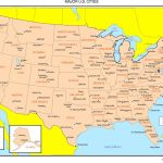 Maps Of The United States   Printable Map Of Usa States And Cities