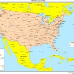Maps Of The United States   Printable Us Map With Cities