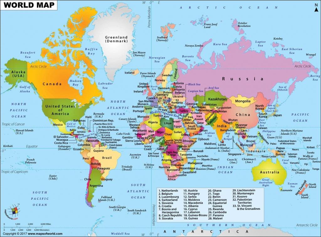 Maps Of World, World Map Hd Picture, World Map Hd Image - Free Printable World Map Pdf