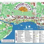 Maps   Tahoe City Downtown Association   Tahoe City California Map