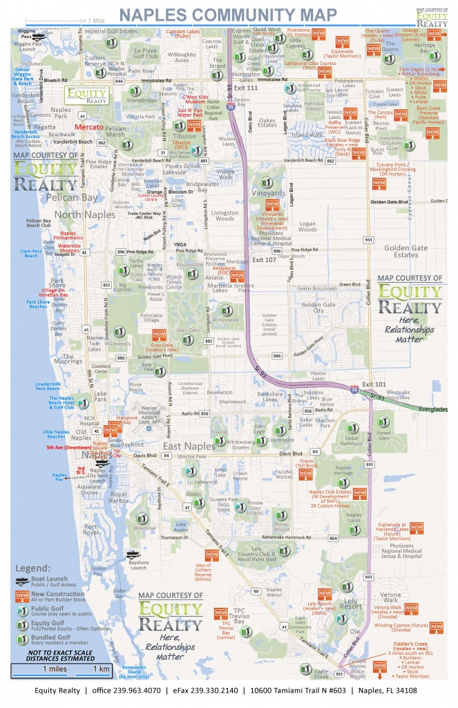 Maps - Vanderbilt Beach Florida Map