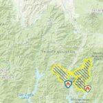 Maps: Wildfires Burning Across California | Abc7News   California Mountain Fire Map