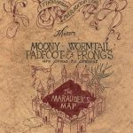 Marauder's Map | Harry Potter | Harry Potter, Marauders Map   Harry Potter Map Marauders Free Printable