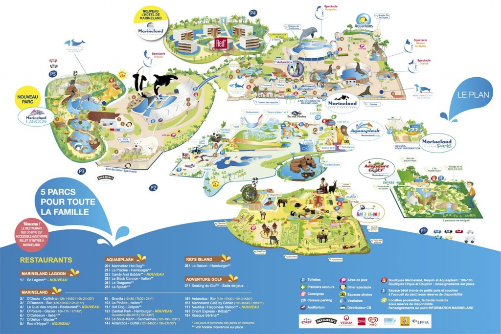 Marineland Antibes France, The French Riviera Theme Park | Oh, The - Marineland Florida Map