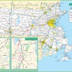 Massachusetts Road Map   Printable Map Of Massachusetts Towns