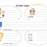 Math : Map Reading Worksheets Map Reading Worksheets High School   Printable Story Map For First Grade