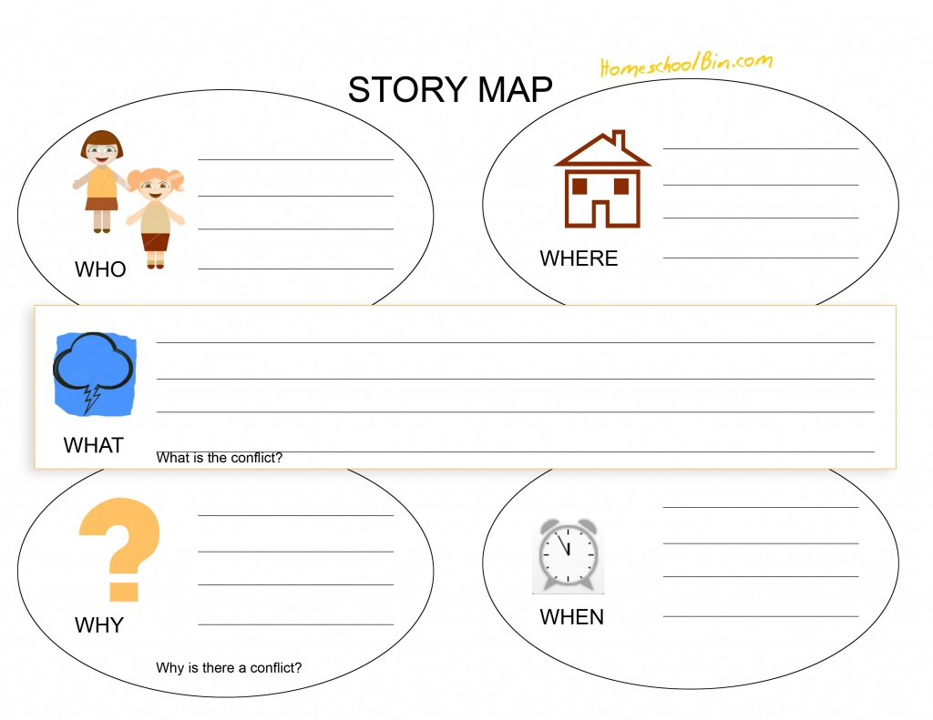 Math : Map Reading Worksheets Map Reading Worksheets High School - Printable Story Map For First Grade