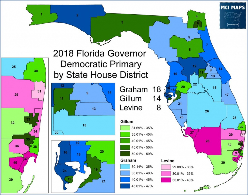 """Matthew Isbell On Twitter: """"the Democratic Primary For #flgov - Florida House District 15 Map"""
