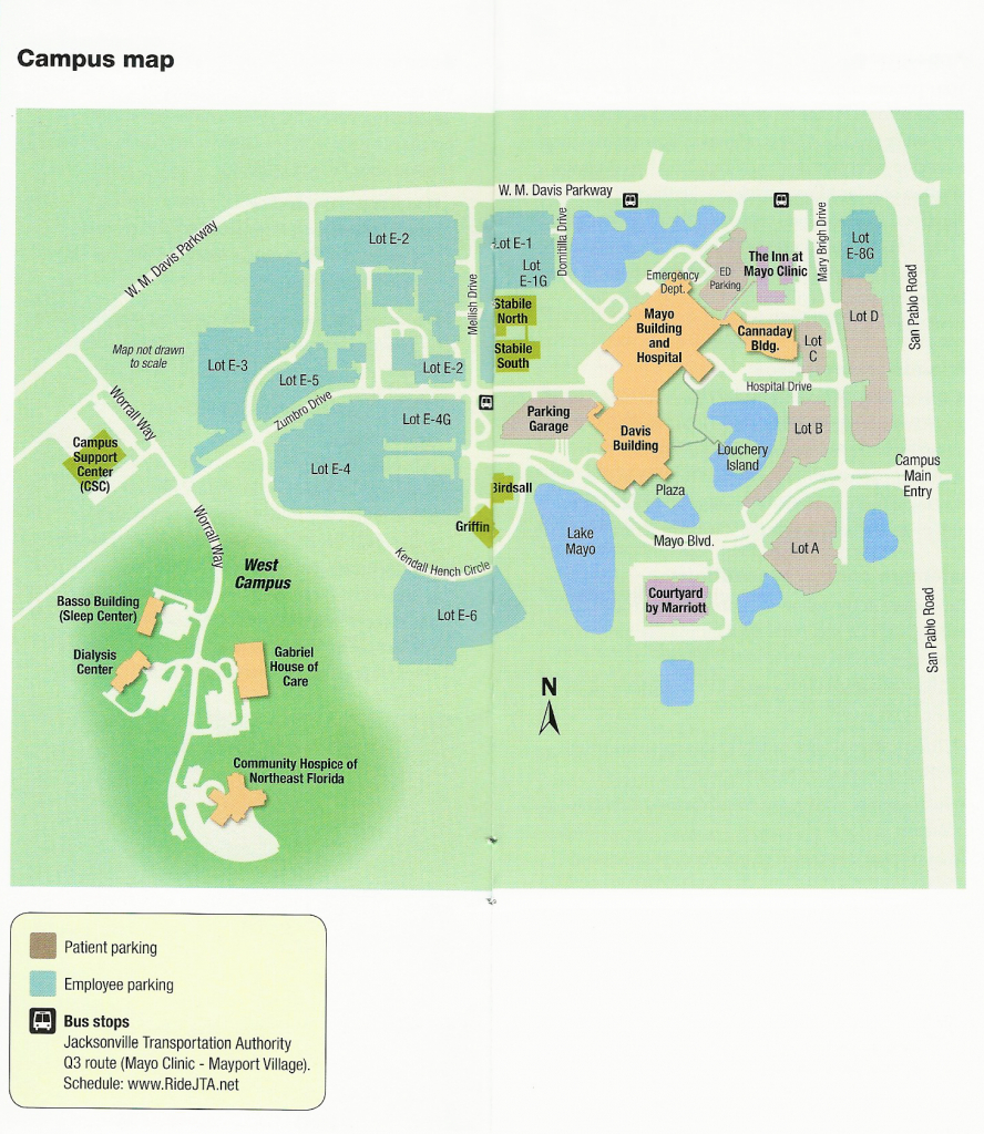 Mayo Clinic Florida Campus Map   Mayo Clinic In Florida   Campus Map - Mayo Clinic Jacksonville Florida Map