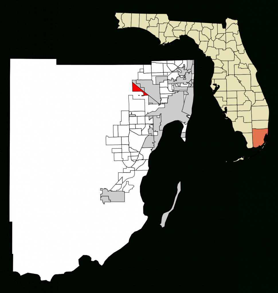 Medley, Florida - Wikipedia - Medley Florida Map