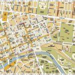 Melbourne Central District Tourist Map Australia City 3   World Wide   Melbourne Tourist Map Printable