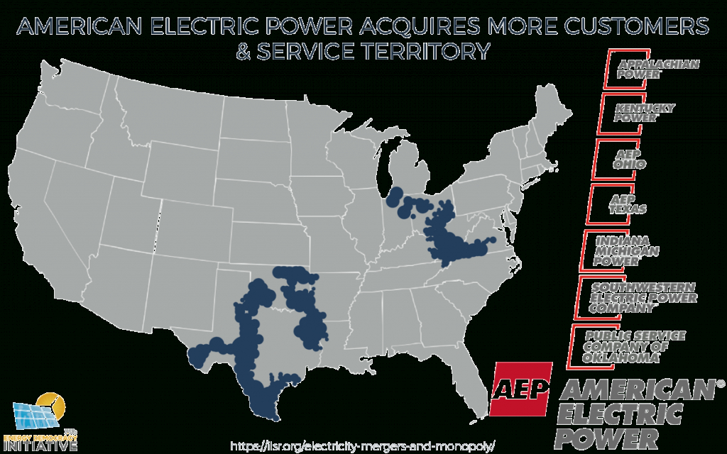 Mergers And Monopoly: How Concentration Changes The Electricity - Florida Power Companies Map
