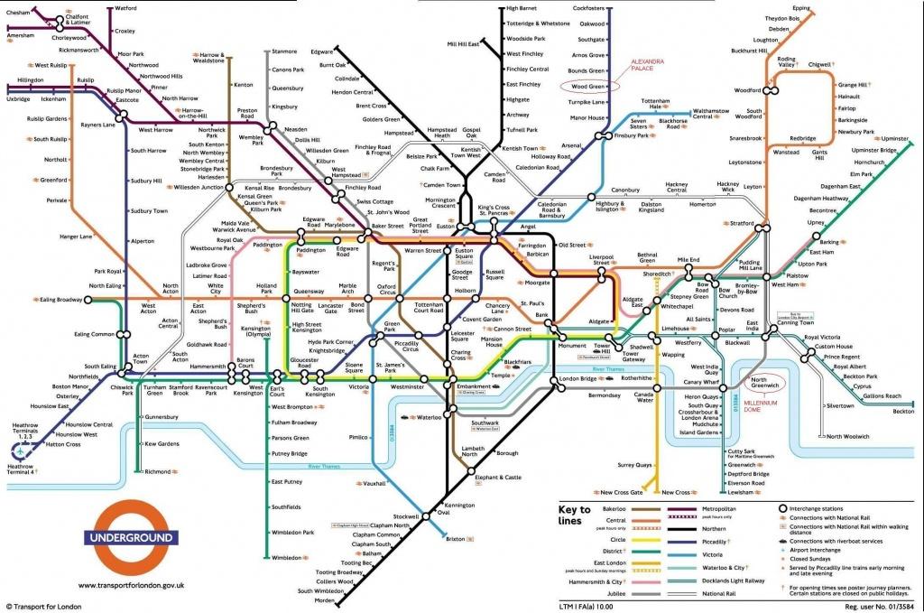 Metro London. | Metro - Subway - Underground | London Tube Map - London Underground Map Printable A4